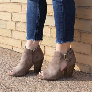 Fergalicious | NWT Palmer Cut Out Ankle Bootie
